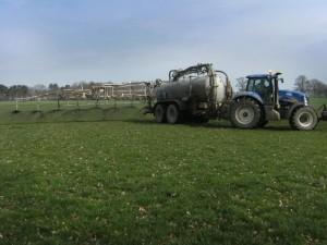 Travaux Agricoles Epandage Lisier bovin station d'épuration